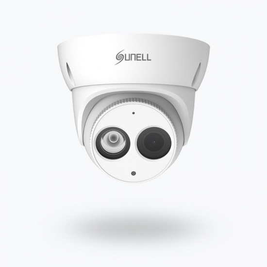 4K Outdoor IR Eyeball Network POE Camera